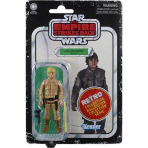 LUKE SKYWALKER FIGURINE STAR WARS EPISODE V RETRO COLLECTION WAVE 2 HASBRO 10 CM 5010993687114 kingdom-figurine.fr