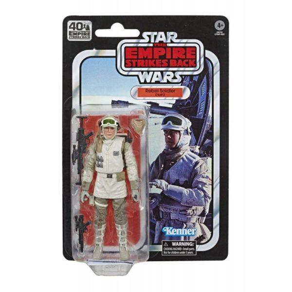 REBEL SOLDIER FIGURINE STAR WARS EPISODE V BLACK SERIES 40TH ANNIVERSARY HASBRO 15 CM 5010993660575 kingdom-figurine.fr
