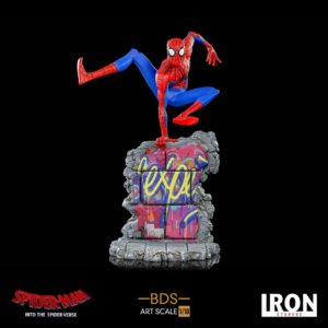 SPIDER-MAN NEW GENERATION STATUETTE PETER B PARKER 1-10 BDS ART SCALE DELUXE IRON STUDIOS 21 CM 606529900038 kingdom-figurine.fr