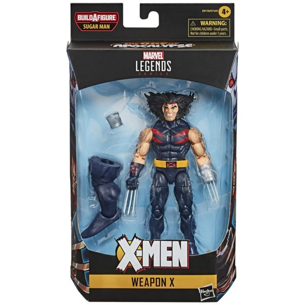 WEAPON X FIGURINE X-MEN AGE OF APOCALYPSE MARVEL LEGENDS HASBRO 15 CM 5010993682270 kingdom-figurine.fr