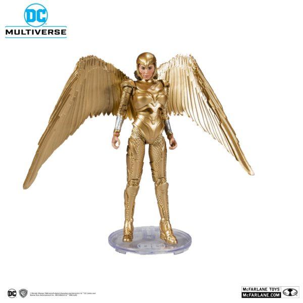 WONDER WOMAN 1984 GOLDEN ARMOR FIGURINE DC MULTIVERSE McFARLANE TOYS 18 CM (2) 787926151237 kingdom-figurine.fr
