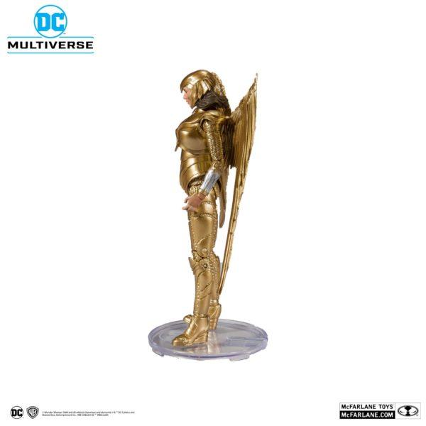 WONDER WOMAN 1984 GOLDEN ARMOR FIGURINE DC MULTIVERSE McFARLANE TOYS 18 CM (2bis) 787926151237 kingdom-figurine.fr