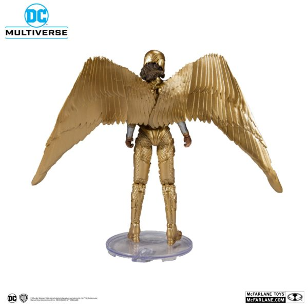 WONDER WOMAN 1984 GOLDEN ARMOR FIGURINE DC MULTIVERSE McFARLANE TOYS 18 CM (3) 787926151237 kingdom-figurine.fr