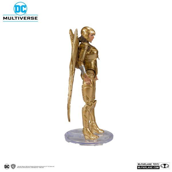 WONDER WOMAN 1984 GOLDEN ARMOR FIGURINE DC MULTIVERSE McFARLANE TOYS 18 CM (3bis) 787926151237 kingdom-figurine.fr