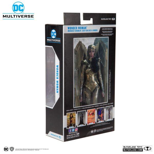 WONDER WOMAN 1984 GOLDEN ARMOR FIGURINE DC MULTIVERSE McFARLANE TOYS 18 CM (6) 787926151237 kingdom-figurine.fr