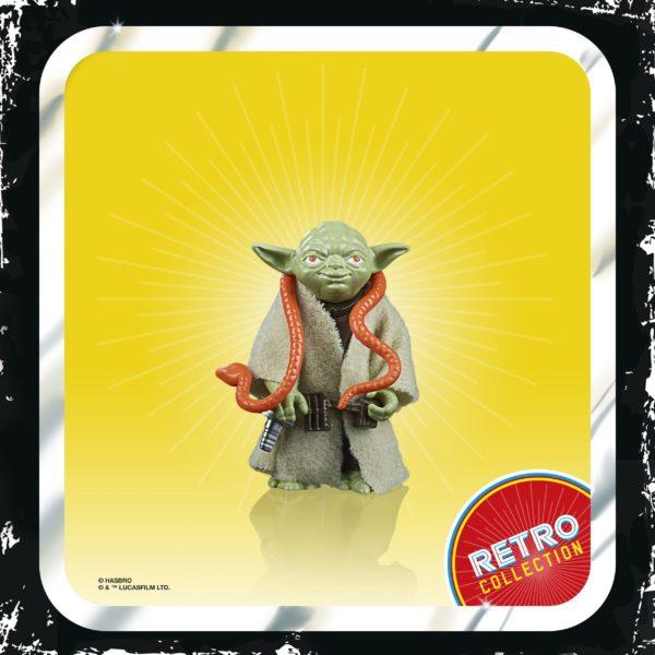 YODA FIGURINE STAR WARS EPISODE V RETRO COLLECTION WAVE 2 HASBRO 5 CM (2) 5010993687091 kingdom-figurine.fr