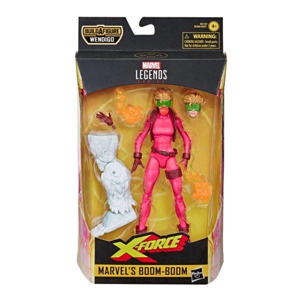 BOOM-BOOM FIGURINE X-FORCE MARVEL LEGENDS HASBRO 15 CM 5010993598038 kingdom-figurine.fr