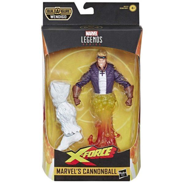 CANNONBALL FIGURINE X-FORCE MARVEL LEGENDS HASBRO 15 CM 5010993598021 kingdom-figurine.fr
