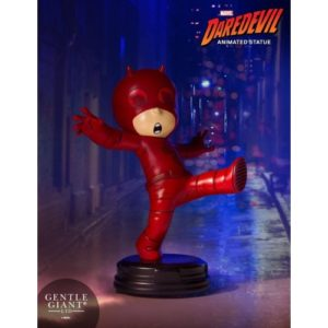 DAREDEVIL MINI STATUETTE MARVEL ANIMATED SERIES GENTLE GIANT 11 CM 814176021741 kingdom-figurine.fr