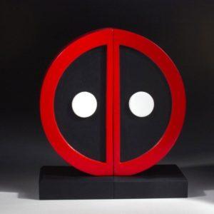 DEADPOOL LOGO SERRE-LIVRES MARVEL COMICS GENTLE GIANT 16 CM (1) 814176022328 kingdom-figurine.fr