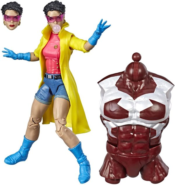 JUBILEE FIGURINE X-MEN MARVEL LEGENDS HASBRO 15 CM (1) 630509808533 kingdom-figurine.fr