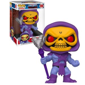 SKELETOR FIGURINE SUPER SIZED POP MASTERS OF THE UNIVERSE FUNKO 25 CM (1) 889698476782 kingdom-figurine.fr