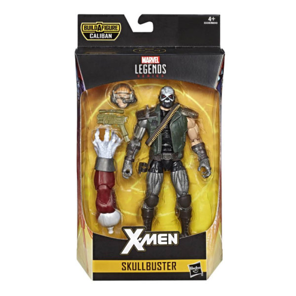 SKULLBUSTER FIGURINE X-MEN MARVEL LEGENDS HASBRO 15 CM 630509808502 kingdom-figurine.fr