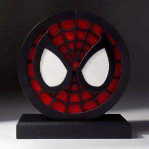 SPIDER-MAN LOGO SERRE-LIVRES MARVEL COMICS GENTLE GIANT 16 CM 814176021857 kingdom-figurine.fr