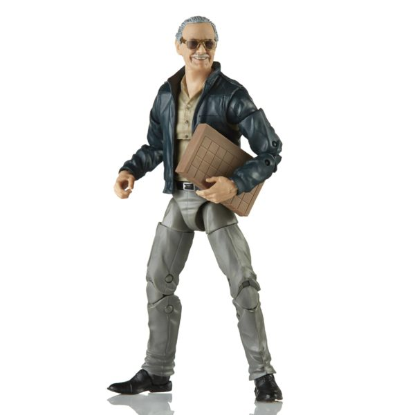 STAN LEE FIGURINE MARVEL LEGENDS SERIES HASBRO 15 CM (2) 5010993697137 kingdom-figurine.fr