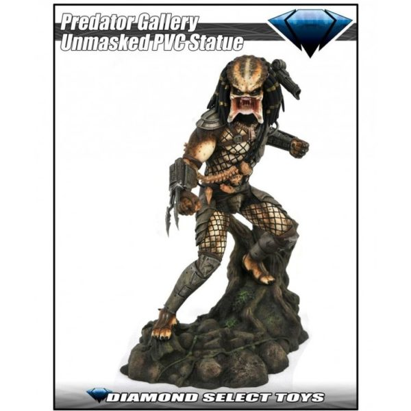 UNMASKED PREDATOR EXCLUSIVE SDDC 2020 STATUETTE PREDATOR MOVIE GALLERY DIAMOND SELECT 25 CM (1) 699788838198 kingdom-figurine.fr