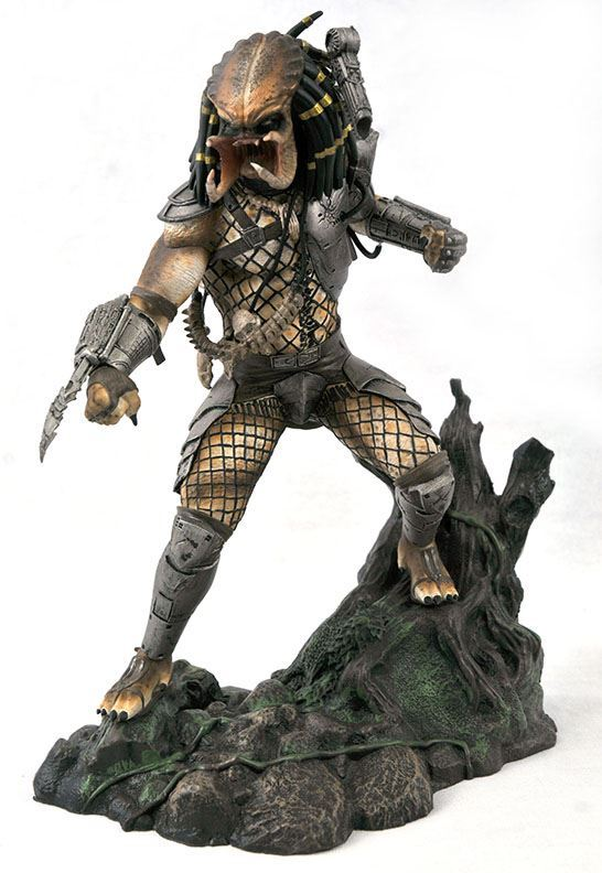 UNMASKED PREDATOR EXCLUSIVE SDDC 2020 STATUETTE PREDATOR MOVIE GALLERY DIAMOND SELECT 25 CM (2) 699788838198 kingdom-figurine.fr