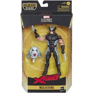 WOLVERINE FIGURINE UNCANNY X-FORCE MARVEL LEGENDS HASBRO 15 CM 5010993598007 kingdom-figurine.fr