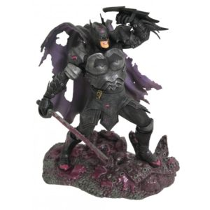 BATMAN DARK NIGHTS METAL STATUETTE DC COMIC GALLERY DIAMOND SELECT 23 CM 699788841662 kingdom-figurine.fr