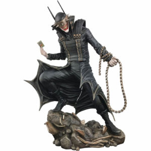 BATMAN WHO LAUGHS STATUETTE DC COMIC GALLERY DIAMOND SELECT 23 CM 699788831632 kingdom-figurine.fr