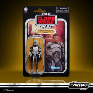 CLONE COMMANDER WOLFFE FIGURINE STAR WARS THE CLONE WARS VINTAGE COLLECTION HASBRO 10 CM 5010993736867 kingdom-figurine.fr