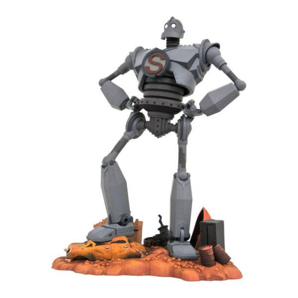 LE GEANT DE FER SUPERMAN STATUETTE LE GEANT DE FER GALLERY DIAMOND SELECT 25 CM 699788833940 kingdom-figurine.fr
