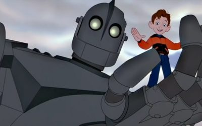 Iron Giant (Géant de fer) et ses figurines