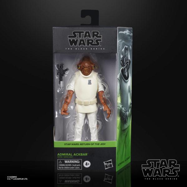 ADMIRAL ACKBAR FIGURINE STAR WARS EPISODE VI BLACK SERIES HASBRO E9356 15 CM 5010993749225 kingdom-figurine.fr