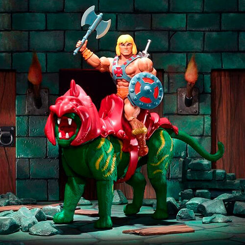 BATTLE CAT FIGURINE MASTERS OF THE UNIVERSE ORIGINS MATTEL 14 CM 887961874907 kingdom-figurine.fr (7)
