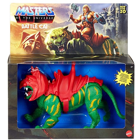 BATTLE CAT FIGURINE MASTERS OF THE UNIVERSE ORIGINS MATTEL 14 CM 887961874907 kingdom-figurine.fr