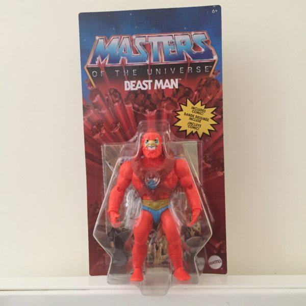 BEAST MAN FIGURINE MASTERS OF THE UNIVERSE ORIGINS MATTEL 14 CM (0) 887961875355 kingdom-figurine.fr