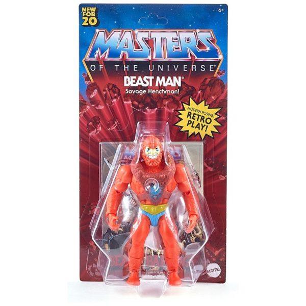 BEAST MAN FIGURINE MASTERS OF THE UNIVERSE ORIGINS MATTEL 14 CM 887961875355 kingdom-figurine.fr