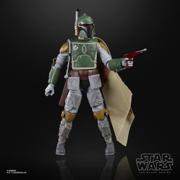 BOBA FETT FIGURINE STAR WARS EPISODE V BLACK SERIES 40TH ANNIVERSARY HASBRO 15 CM (2) 5010993714933 kingdom-figurine.fr