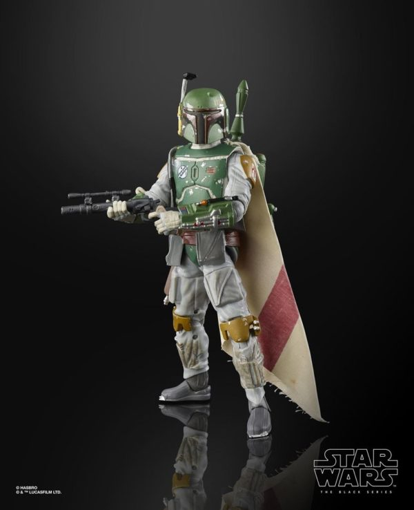 BOBA FETT FIGURINE STAR WARS EPISODE V BLACK SERIES 40TH ANNIVERSARY HASBRO 15 CM (3) 5010993714933 kingdom-figurine.fr