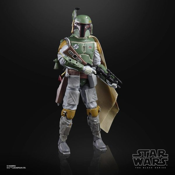 BOBA FETT FIGURINE STAR WARS EPISODE V BLACK SERIES 40TH ANNIVERSARY HASBRO 15 CM (4) 5010993714933 kingdom-figurine.fr