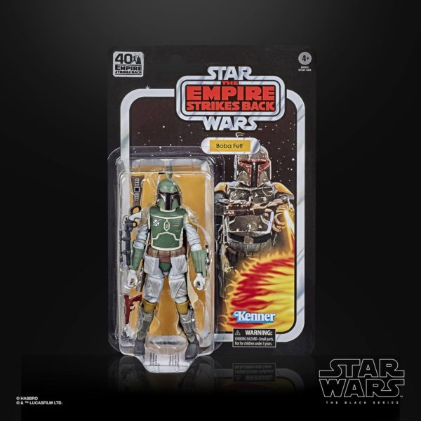 BOBA FETT FIGURINE STAR WARS EPISODE V BLACK SERIES 40TH ANNIVERSARY HASBRO 15 CM 5010993714933 kingdom-figurine.fr