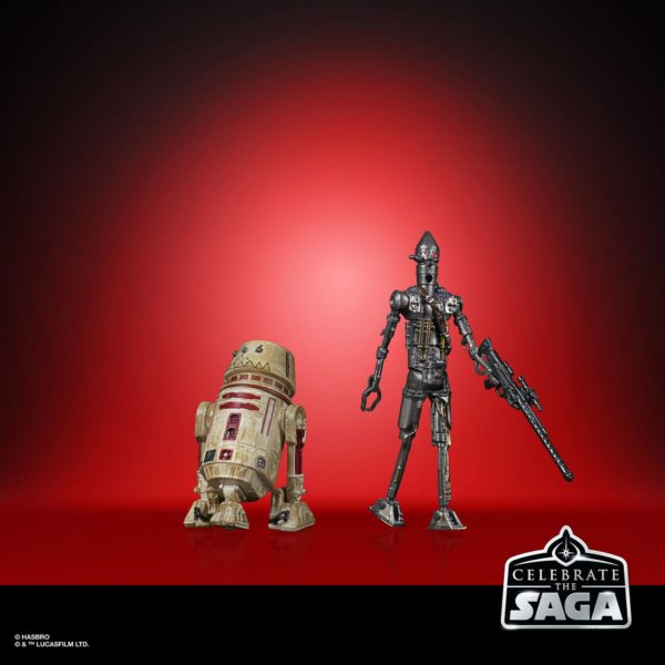 BOUNTY HUNTERS PACK 5 FIGURINES STAR WARS CELEBRATE THE SAGA HASBRO 10 CM (4) 5010993782413 kingdom-figurine.fr