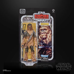 CHEWBACCA FIGURINE STAR WARS EPISODE V BLACK SERIES 40TH ANNIVERSARY HASBRO 15 CM 5010993678556 kingdom-figurine.fr