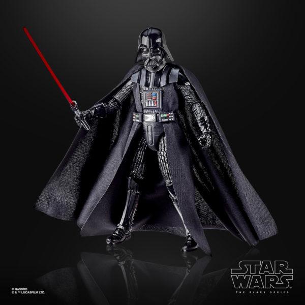 DARTH VADER FIGURINE STAR WARS EPISODE V BLACK SERIES 40TH ANNIVERSARY HASBRO 15 CM (1) 5010993714964 kingdom-figurine.fr