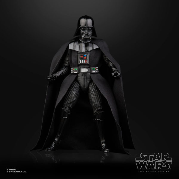 DARTH VADER FIGURINE STAR WARS EPISODE V BLACK SERIES 40TH ANNIVERSARY HASBRO 15 CM (4) 5010993714964 kingdom-figurine.fr