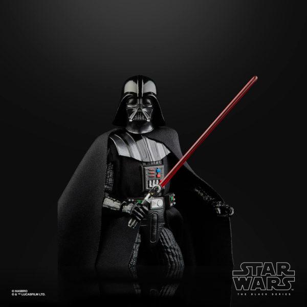 DARTH VADER FIGURINE STAR WARS EPISODE V BLACK SERIES 40TH ANNIVERSARY HASBRO 15 CM (5) 5010993714964 kingdom-figurine.fr
