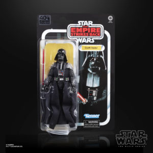DARTH VADER FIGURINE STAR WARS EPISODE V BLACK SERIES 40TH ANNIVERSARY HASBRO 15 CM 5010993714964 kingdom-figurine.fr