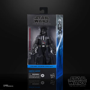 DARTH VADER FIGURINE STAR WARS EPISODE V BLACK SERIES HASBRO E9365 15 CM 5010993749195 kingdom-figurine.fr
