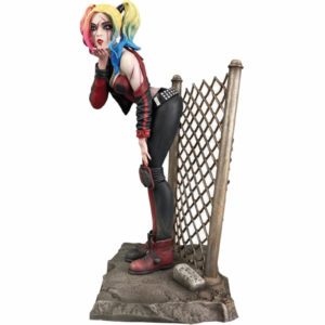 DCEASED HARLEY QUINN STATUETTE DC COMIC GALLERY DIAMOND SELECT 20 CM 699788838839 kingdom-figurine.fr