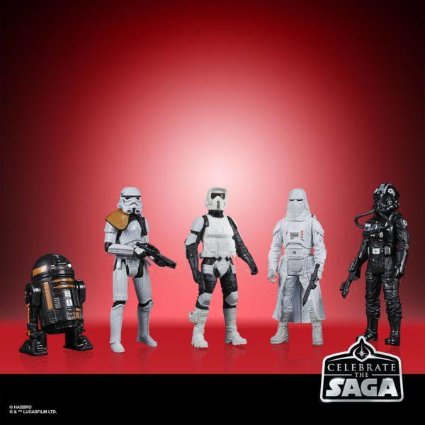 GALACTIC EMPIRE PACK 5 FIGURINES STAR WARS CELEBRATE THE SAGA HASBRO 10 CM (1) 5010993782499 kingdom-figurine.fr