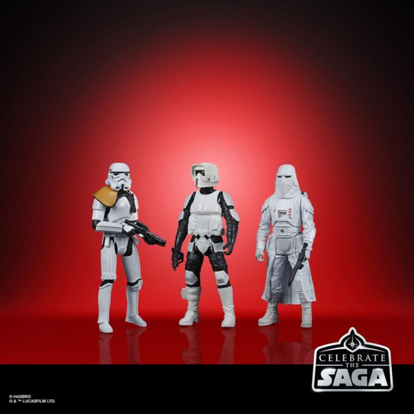 GALACTIC EMPIRE PACK 5 FIGURINES STAR WARS CELEBRATE THE SAGA HASBRO 10 CM (2) 5010993782499 kingdom-figurine.fr