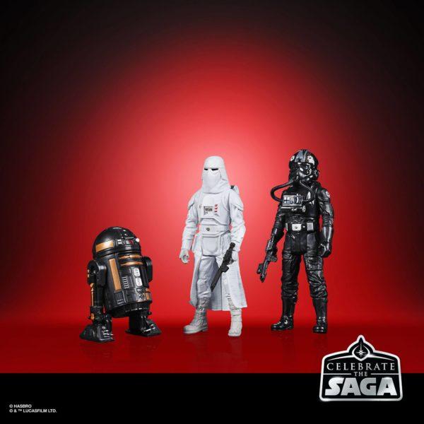 GALACTIC EMPIRE PACK 5 FIGURINES STAR WARS CELEBRATE THE SAGA HASBRO 10 CM (3) 5010993782499 kingdom-figurine.fr