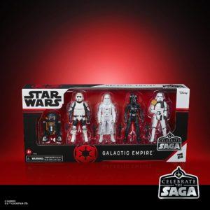 GALACTIC EMPIRE PACK 5 FIGURINES STAR WARS CELEBRATE THE SAGA HASBRO 10 CM 5010993782499 kingdom-figurine.fr