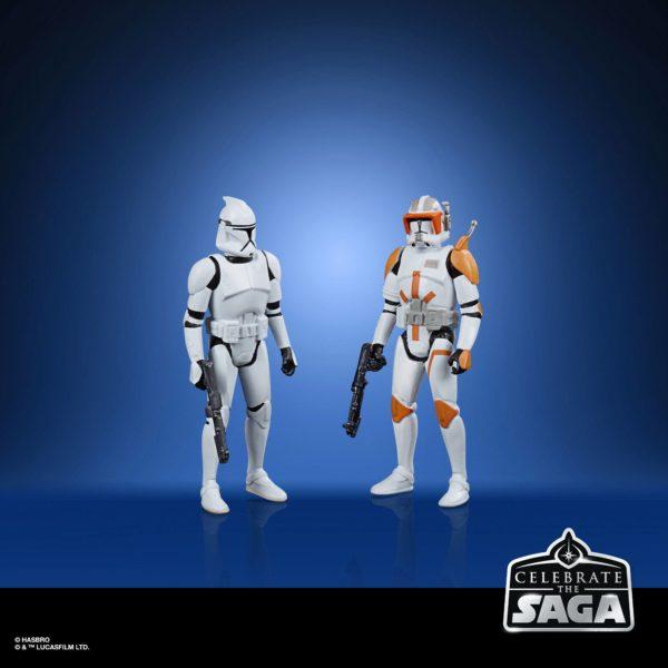 GALACTIC REPUBLIC PACK 5 FIGURINES STAR WARS CELEBRATE THE SAGA HASBRO 10 CM (2) 5010993782550 kingdom-figurine.fr