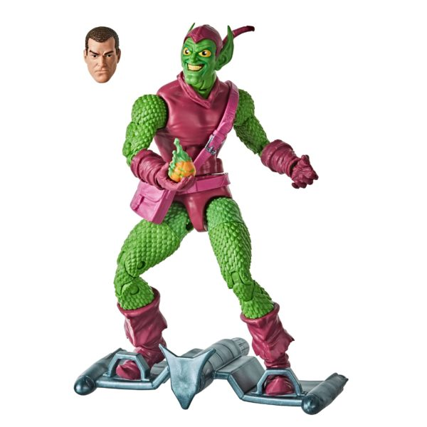 GREEN GOBLIN FIGURINE MARVEL SPIDER-MAN RETRO COLLECTION HASBRO 15 CM (1) 5010993715497 kingdom-figurine.fr